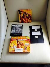 Rare HEROES Floppy Disk Game For The Commodore 64 C64 BOND CONAN SKYWALKER ARNIE
