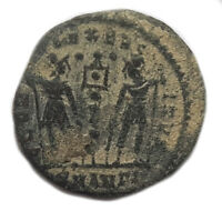 ANCIENT ROMAN COIN - CONSTANTINE II. 316-340AD -GLORIA INEXERCITUS -  #OKT218