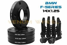 20mm BMW Wheel Spacers Black Full Hub Centric F Series F30 F32 F33 F80 F10 M3 M4
