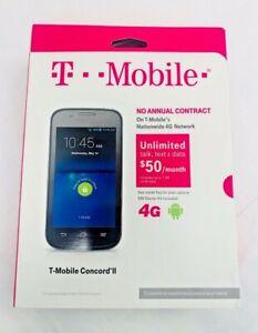 ZTE Concord II Z730 - Blue (T-Mobile - OPEN BOX)