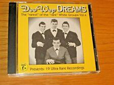 """USED/EXCELLENT DOO WOP CD - VARIOUS GROUPS - """"DOO-WOP DREAMS"""" Vol. 4"""