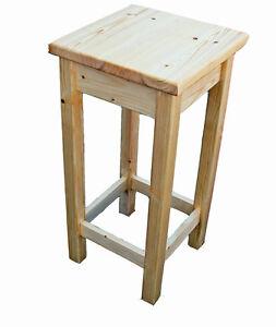 Sturdy wooden stools