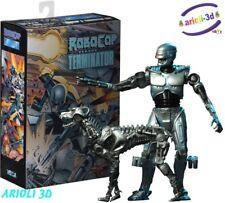 "NECA Robocop versus Terminator Endocop & Terminator Dog 7"""" Scale Action Figure"