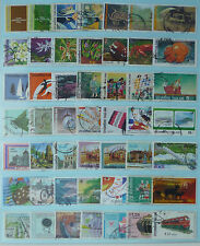 THAILAND STAMP COLLECTION PACKET of 50 DIFFERENT LARGE SIZE STAMPS USED (Lot 6)