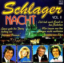 SCHLAGER NACHT - Volume II CD 15 Tracks NEU & OVP Top Schlager