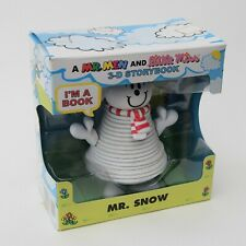 A Mr Men and Little Miss 3-d Storybook Mr. Snow. Opened Box. Rare