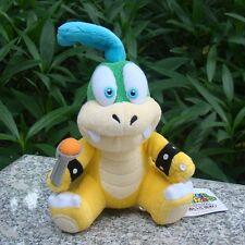 "Larry Koopa 6"" Super Mario Bros Run Plush Toy Bowser Son Koopalings Cuddly Doll"
