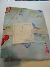 Pottery Barn Kids Bailey blue  Duvet Cover twin  New