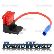 Inline 10A Blade Fuse Tap Car Audio Quick Ingition Live Splice Add Circuit