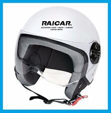 Caschi casco moto scooter bianco opaco taglia S lampa 90773 ld-2 demi jet