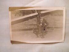 Flugzeug Segelflugzeug Segelfliegen echt Foto Ak um 1930 Schulgleiter grunau ?