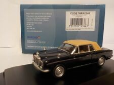 Rolls Royce Corniche - Indigo Blue  1:76 Oxford Diecast Model Car British
