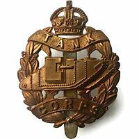 Original WW1 Royal Tank Corps Tankers Regiment Cap Badge - AV30