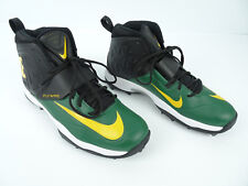 🔥 Nike Men's Air Zoom Flywire Football Cleats Green Yellow Black Size 15 NWOB