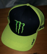 Monster Energy Valentino Rossi VR46 Moto GP Sponsor Cap Official 2020