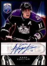 2009-10 BE A PLAYER SIGNATURES ANZE KOPITAR AUTO LOS ANGELES KINGS #S-AK