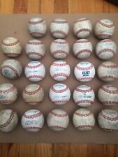 Lot Of 24 Used Baseballs, Great Condition ⚾�