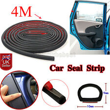 4M Small D-shape Door Window Rubber Seal Strip Weatherstrip For Car Truck Motor