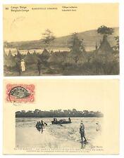 CONGO BELGIUM 1916 ca. PPC + PS. CARD --- - F/VF