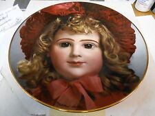 NIB-Mildred Seeley  Antique Doll Collection Plate FRENCH BEBES Jumeau.s Cherie