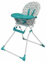 Bebe Style Foldable Ez-123 Highchair Baby Childs Kids Feeding High Chair Seat