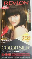 Revlon Colorsilk Buttercream 40/30N Dark Brown Lasting Hair Color All in One New