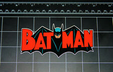 Batman retro bat wing red logo vinyl decal sticker comic book tv robin joker