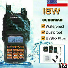 Baofeng Uv-9R Plus Vhf Uhf Walkie Talkie Dual-Band Ham Handheld Two-way Radio