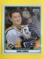 2003 Upper Deck UD Retrospectives Mini #R72 Mario Lemieux Pittsburgh Penguins