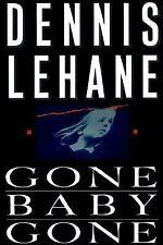 Dennis Lehane GONE, BABY, GONE 1st ed. Signed, HC Kenzie & Gennaro mystery