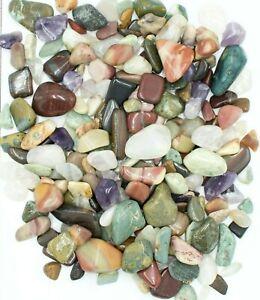 Western Australian Tumble polished Rocks Crystals Amethyst Jasper Aquamarine