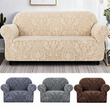 1/2/3 Seater Sofa Cover Slipcover Floral Luxury Protector Elastic Stretch Settee