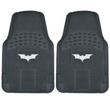 Rubber Front Car Floor Mats Batman Gift Set Warner Bros Logo Pair Dar Knight