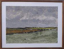 Jørgen Mogensen 1922-2004 - larghezza paesaggio danese-Modern oil painting