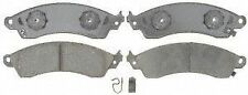 ACDelco 17D412C Front Ceramic Brake Pads