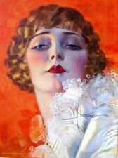 1931 Pin Up Girl Calendar by Rolf Armstrong Blond Flapper Style Girl M