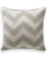 "NWT $135 Hotel Collection Interlattice Chevron 18"" Square Decorative Pillow #P4"