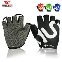 Cycling Gloves Half Finger Shockproof MTB Road Bike Bicycle Sports Pad Mitts