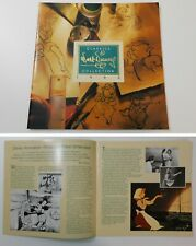 1993 WDCC Walt Disney Classic Collection 1st YEAR INTRO BOOK Fantasia Cinderella