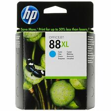 HP 88XL cyan C9391A Officejet PRO L 7555 7550 7500 A --------------- OVP 05/2014