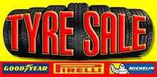 PNEUMATICO vendita Sign Banner Outdoor segni shop PNEUMATICI striscioni pvc