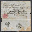 1874 LEVANTE EMISSIONI GENERALI STORIA POSTALE LETTERA EFFIGIE 40 CENT - RR12242