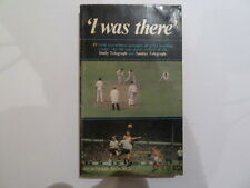 """""""I Was There""""  A 1967 Compilation of Eye Witness Accounts of Sporting Events"""