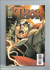 MARVEL COMICS;  THOR  #2  AUTOGRAPHED ON COVER  BY ARTIST OLIVIER COIPEL NICE!!!