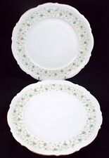 Mitterteich LADY PATRICIA 2 Dinner Plates 10162 USED GREAT VALUE