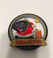 """Mary Engelbreit """"Believe"""" Ornament 1986 in box in excellent Condition"""