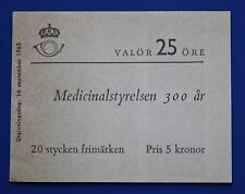 Sweden (632a) 1962 Board of Health MNH booklet