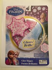 DISNEY FROZEN  GLOW SHAPES ( GLOW IN THE DARK ) Free US Shipping