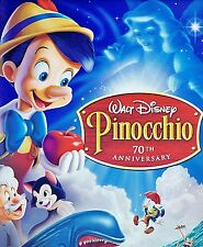 Pinocchio DVD Disney Movie