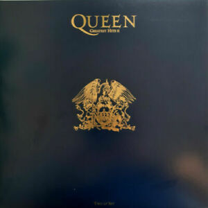 """QUEEN """"GREATEST HITS II"""" LIMITED EDITION BLUE VINYL LP NEUF OUVERT /NEW UNSEALED"""